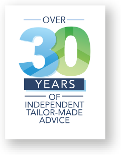 Over 30yrs of Independent Tailor-Made Advice